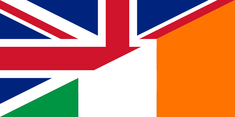 Flag of the United Kingdom and Ireland